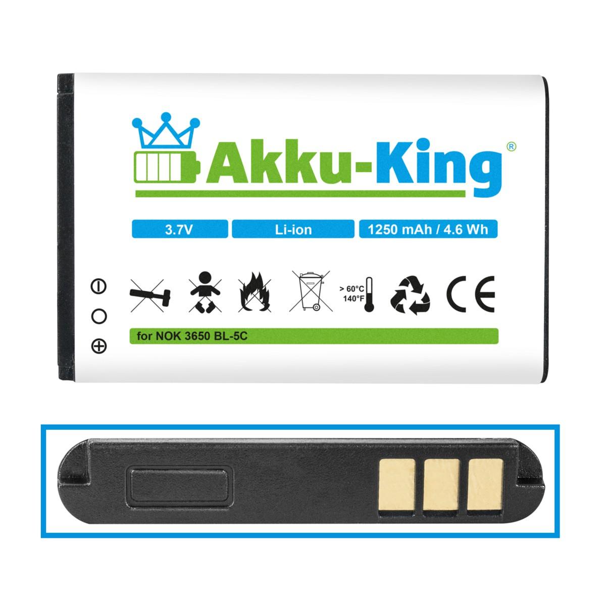 Akku King Akku FÜR Nokia 2323 Classic 2330 Classic 2600 ...