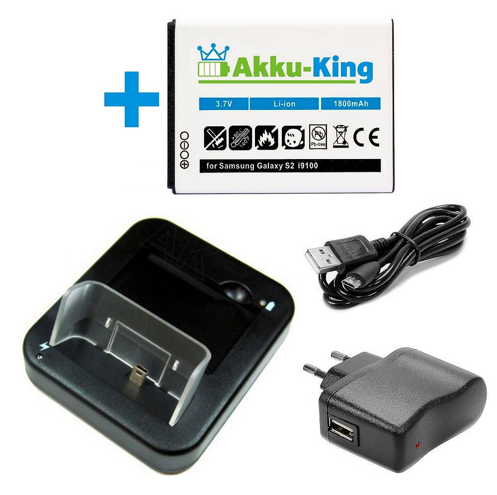usb dockingstation akku ladeger t f r samsung galaxy s 2 ii i9100 handy ladestation samsung. Black Bedroom Furniture Sets. Home Design Ideas