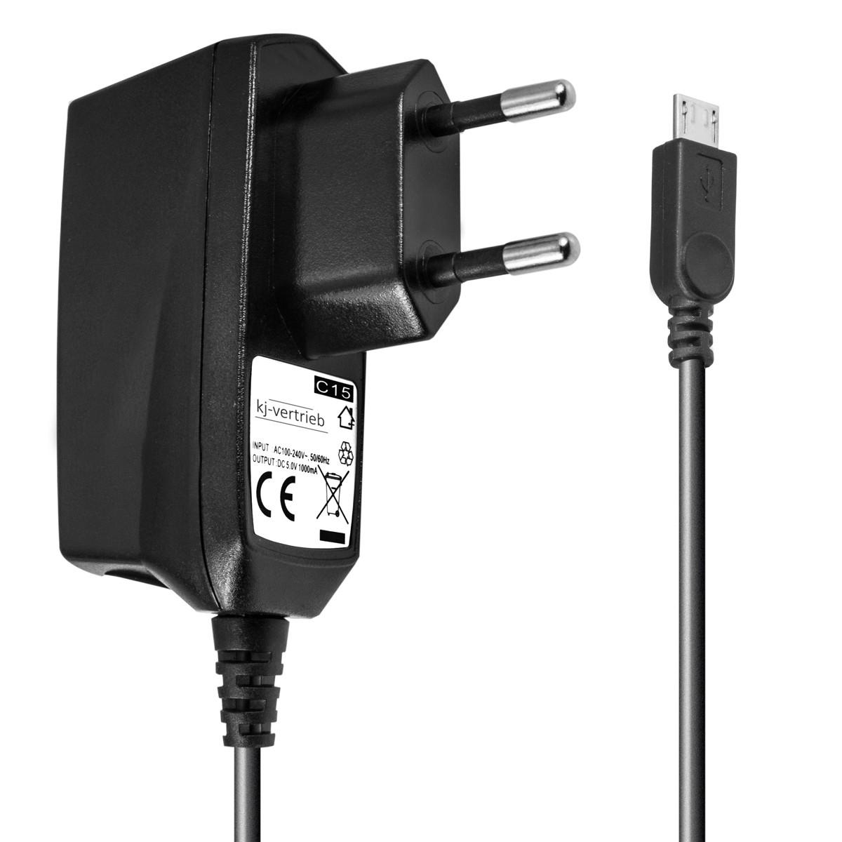 Ladegerät für Nokia, Blackberry, Motorola, Samsung, Sony Ericsson, Blackberry, HTC - micro USB Output 1A