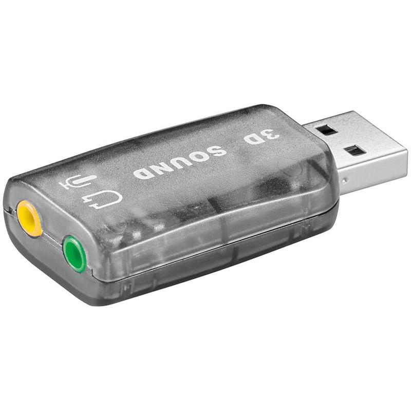 USB Soundkarte, Audio Controller - Stereo
