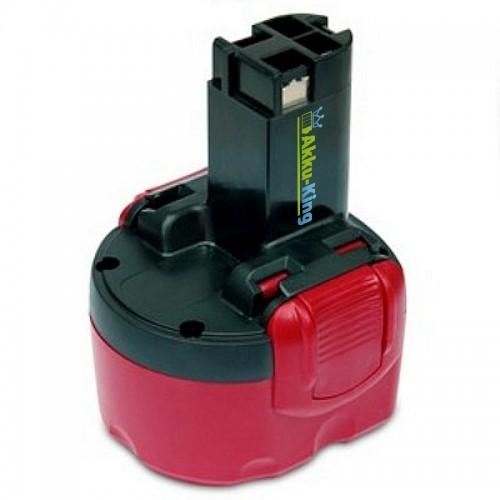 Akku kompatibel zu Bosch GSR 9,6VE-2, PSR 9,6VE-2, 32609-RT, 23609 - ersetzt BAT100, BAT119, BAT048, 2607335260, 2607335524 - Ni-Cd 1500 mAh 9,6 Volt